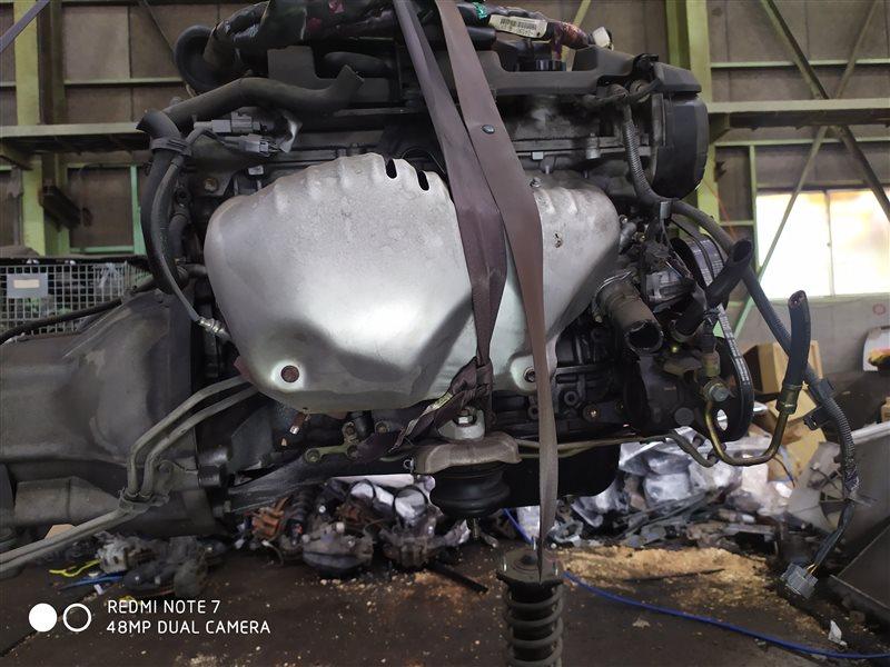 Двигатель Toyota Cresta GX100 1GFE 2001