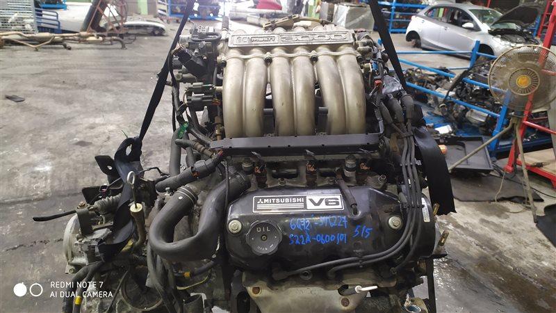 Двигатель Mitsubishi Debonair S22A 6G72 1999