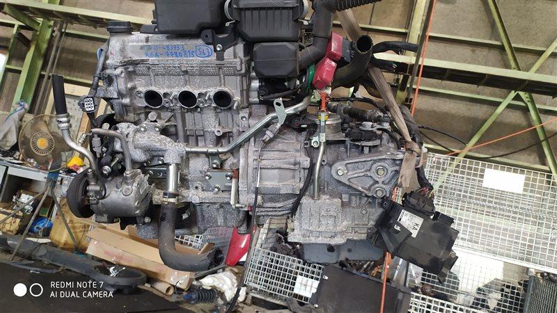 Двигатель Nissan Moco MG22S K6A 2009
