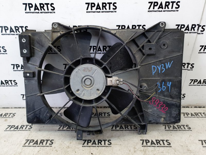 Вентилятор радиатора Mazda Demio DY3W ZJ-VE 2007