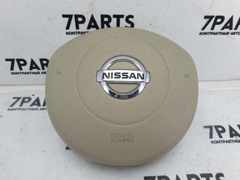 Airbag на руль Nissan March AK12 CR12DE 2007