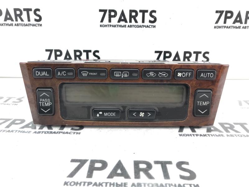 Климат-контроль Toyota Pronard MCX20 1MZFE 2001