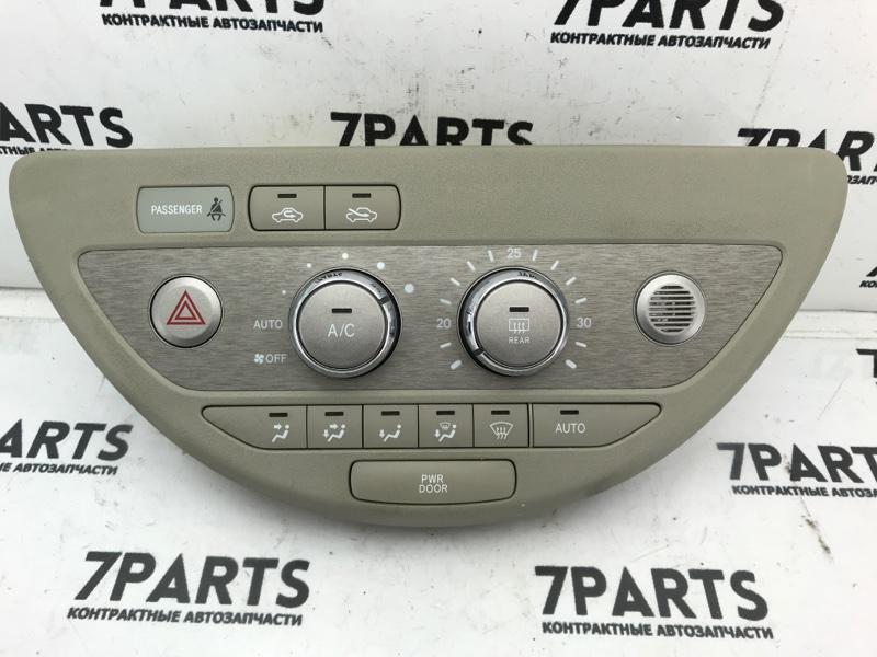 Климат-контроль Toyota Porte NNP10 2NZFE 2008