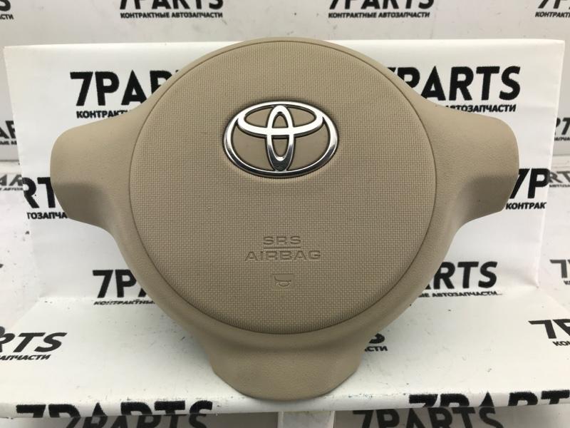 Airbag на руль Toyota Porte NNP10 2NZFE 2007
