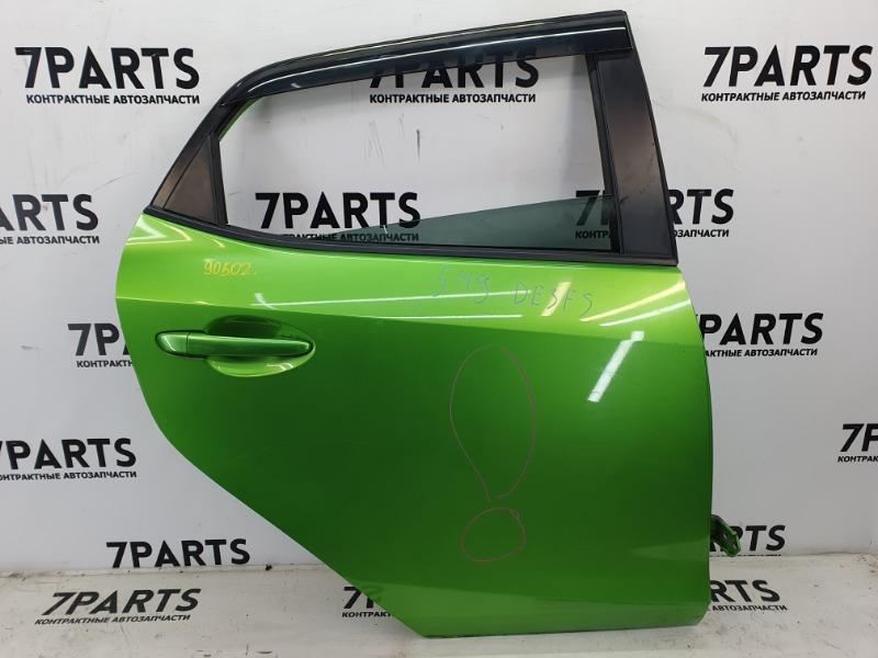 Дверь Mazda Demio DE3FS ZJ задняя правая