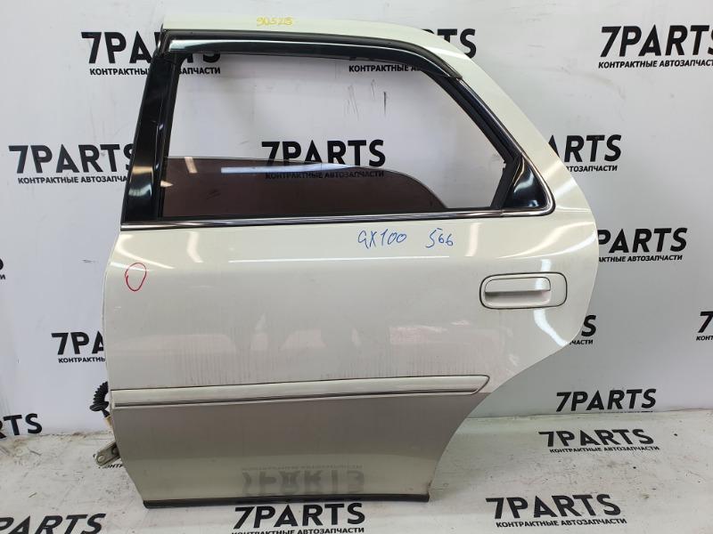 Дверь Toyota Cresta GX100 1GFE 2001 задняя левая