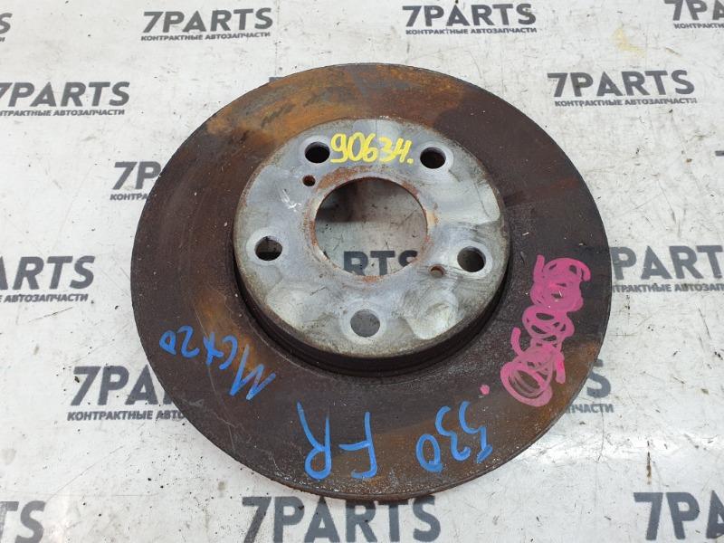 Тормозной диск Toyota Pronard MCX20 1MZFE 2001 передний