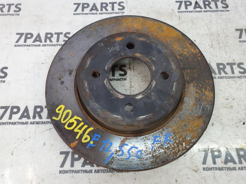 Тормозной диск Nissan Note E12 HR12DDR 2012 передний