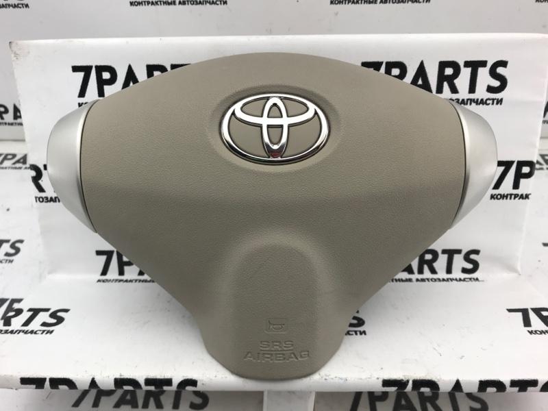 Airbag на руль Toyota Porte NNP10 2NZFE 2008