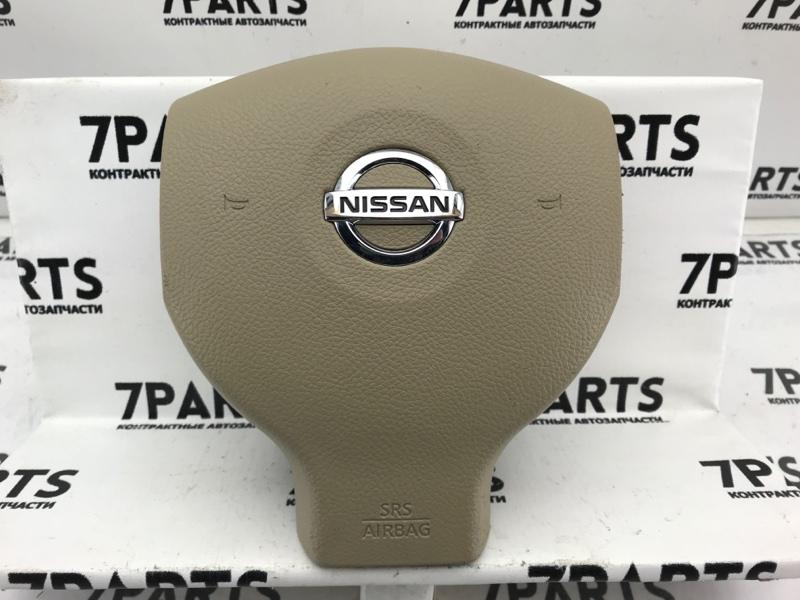 Airbag на руль Nissan Tiida C11 HR15DE 2010