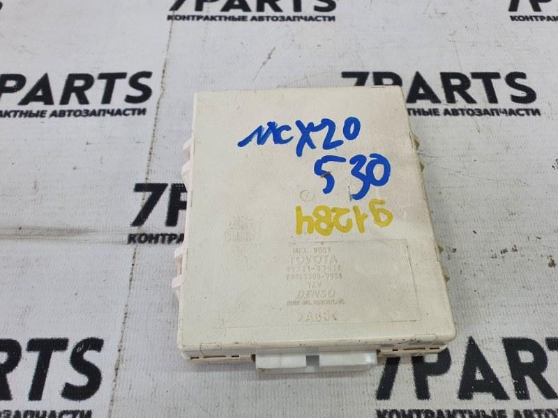 Блок управления Toyota Pronard MCX20 1MZFE 2001