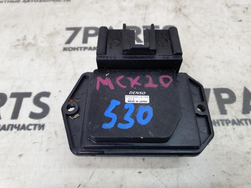 Реостат Toyota Pronard MCX20 1MZFE 2001