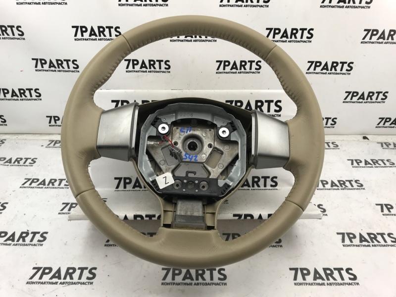 Руль Nissan Tiida C11 HR15DE 2010