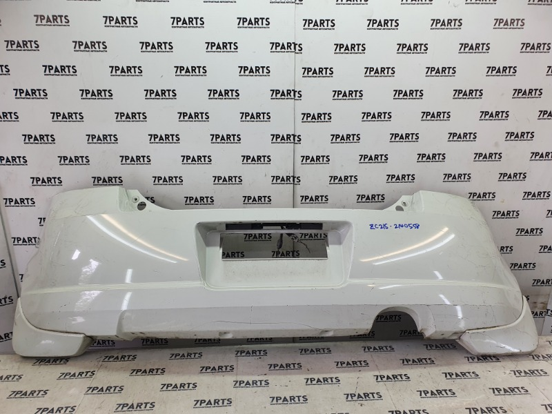 Бампер Suzuki Swift ZC21S M15A 2006 задний