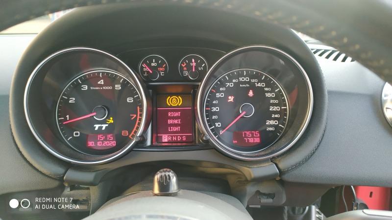 Автомобиль AUDI TT 8J 2007 года в разбор