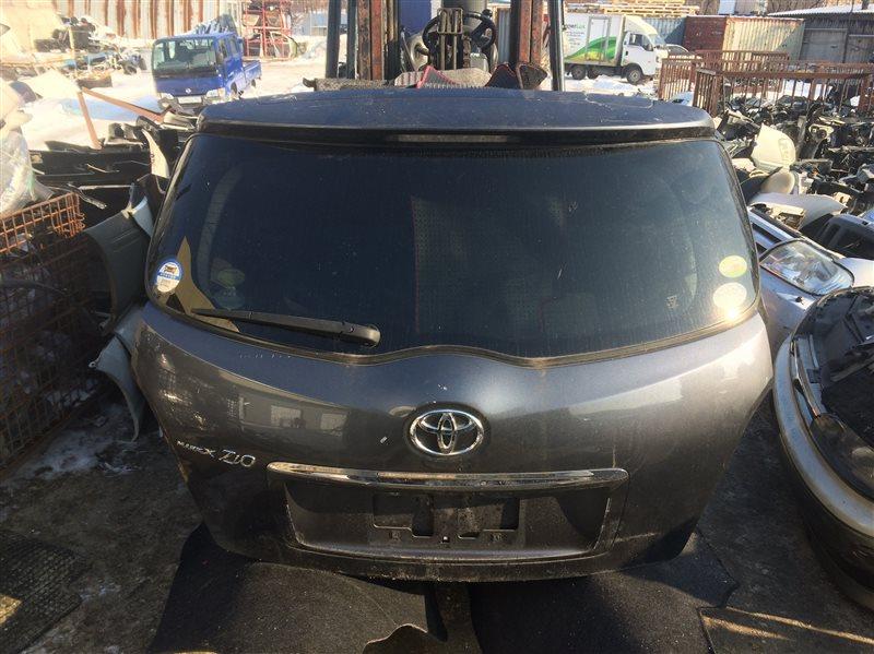 Дверь 5-я Toyota Mark X Zio ANA10 задняя