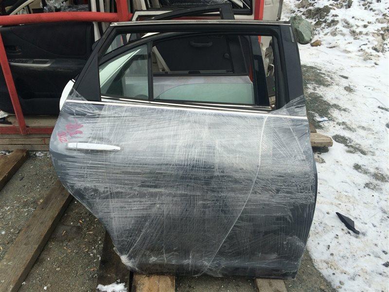 Дверь Toyota Mark X Zio ANA10 задняя правая