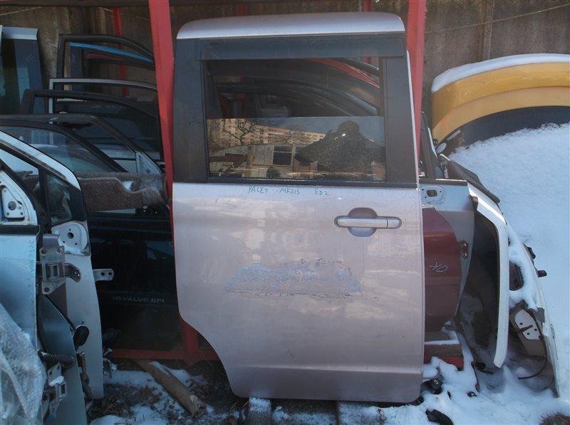 Дверь Suzuki Palette MK21S задняя правая