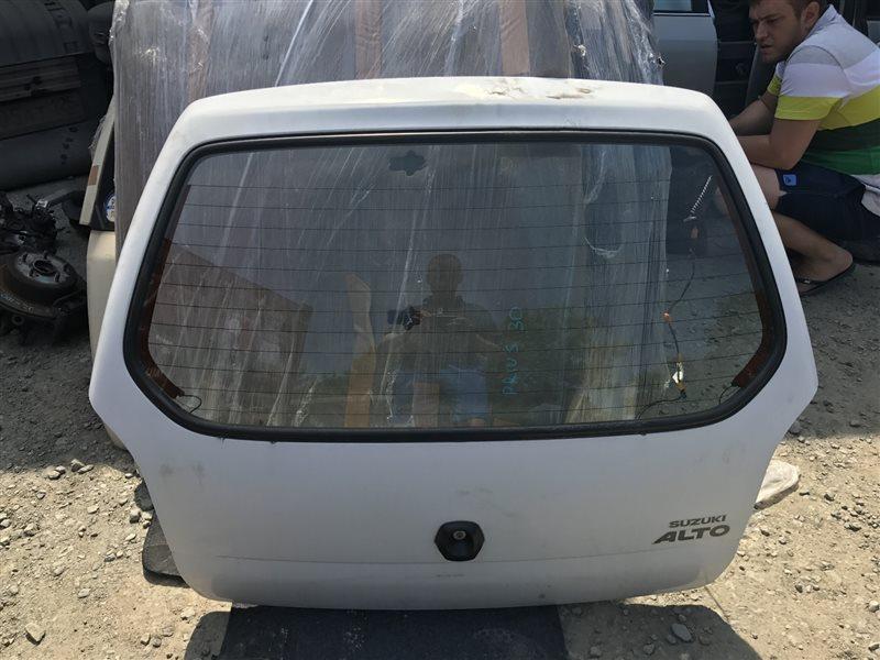 Дверь 5-я Suzuki Alto HA23V задняя