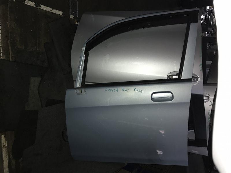 Дверь Subaru Stella RN1 передняя левая