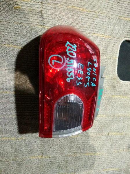 Стоп-сигнал Daihatsu Sonica L405S задний левый 220-51856