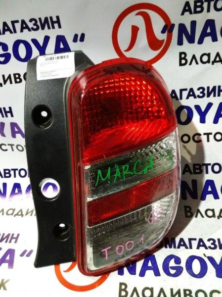 Стоп-сигнал Nissan March NK13 задний правый T001