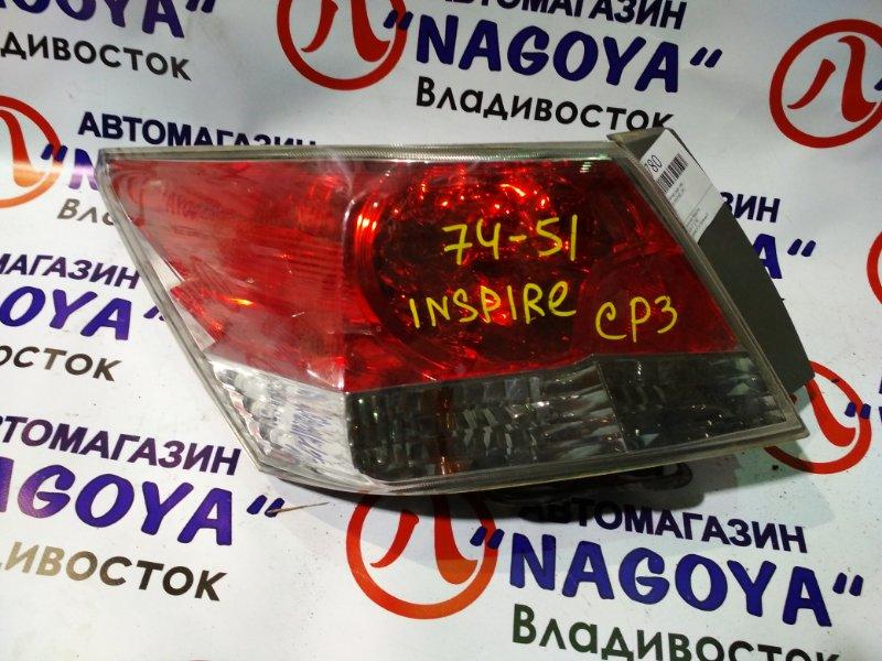 Стоп-сигнал Honda Inspire CP3 задний левый 7451