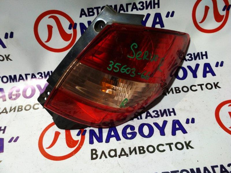 Стоп-сигнал Suzuki Cervo HG21S задний правый 35603-66 KO