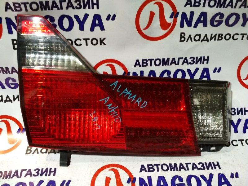 Стоп-вставка Toyota Alphard ANH10 задняя левая 58-8