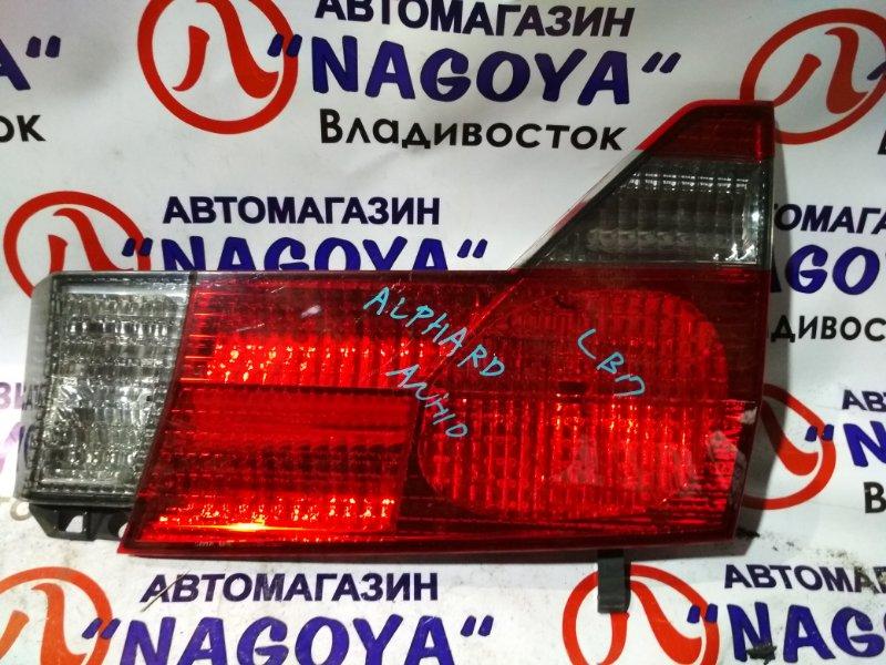 Стоп-вставка Toyota Alphard ANH10 задняя правая 58-8