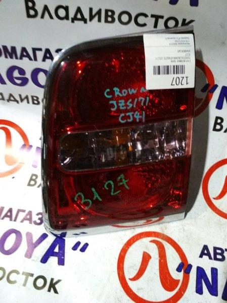 Стоп-вставка Toyota Crown Athlete JZS171 задняя правая 3127