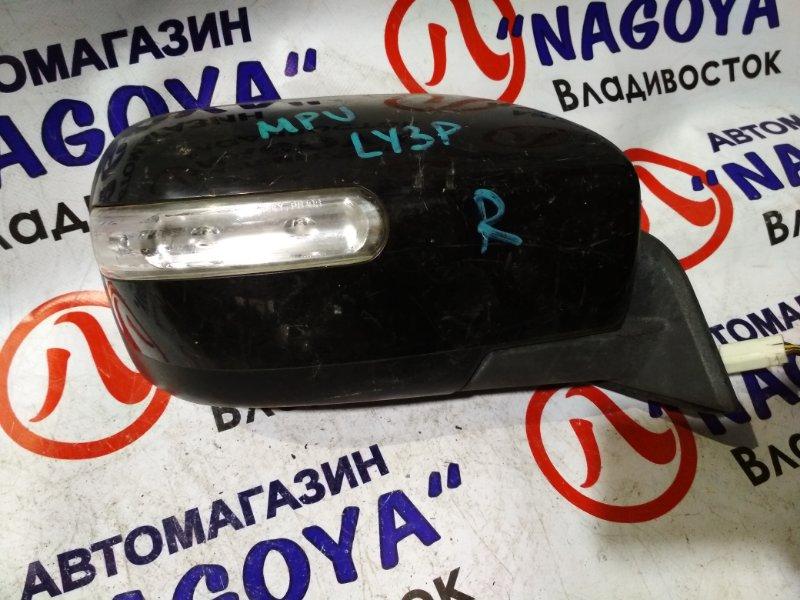 Зеркало Mazda Mpv LY3P переднее правое 7 KOHTAKTOB