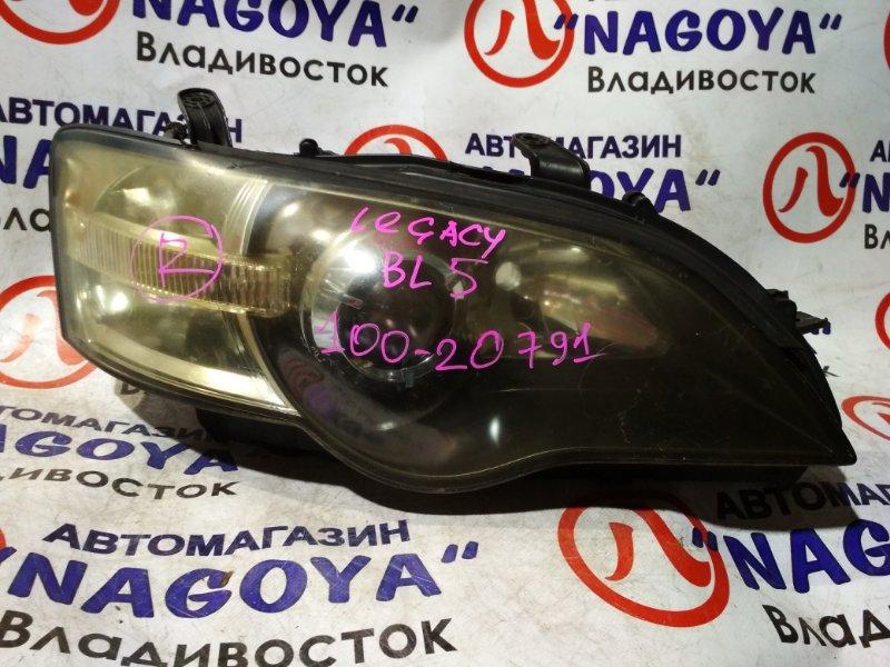 Фара Subaru Legacy BP5 передняя правая 100-20791