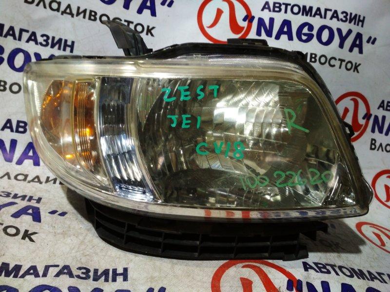 Фара Honda Zest JE1 передняя правая 100-22620