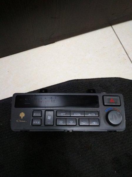 Блок управления климат-контролем Nissan Cima FHY33