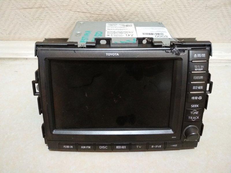 Монитор Toyota Estima GSR50 86100-28100