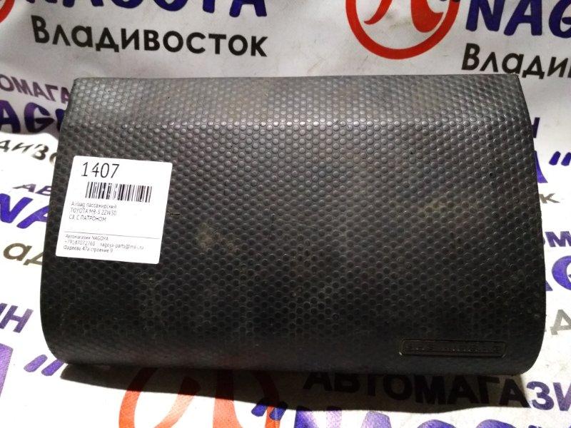 Airbag пассажирский Toyota Mr-S ZZW30