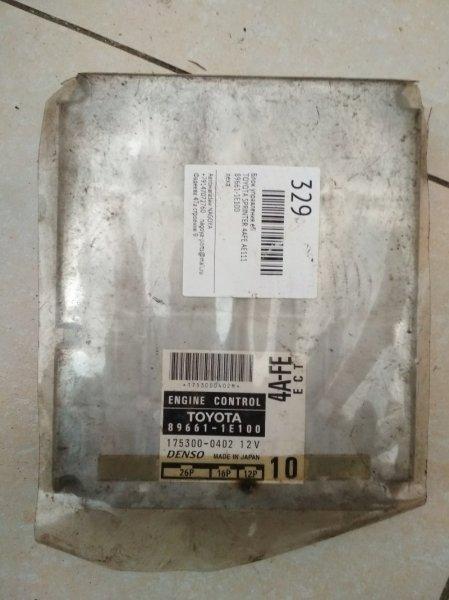 Блок управления efi Toyota Sprinter AE111 4A-FE 89661-1E100