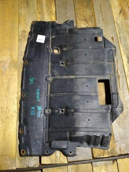 Защита двигателя Nissan Stagea M35
