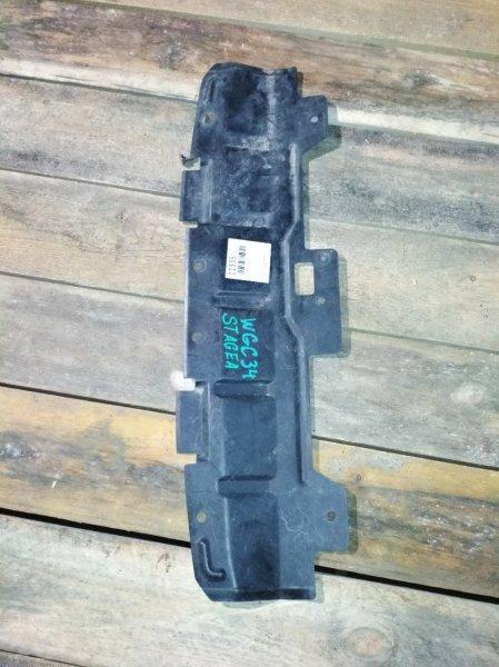 Защита бампера Nissan Stagea WGNC передняя