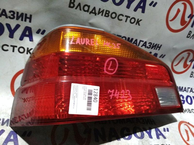 Стоп-сигнал Nissan Laurel HC35 задний левый 7423