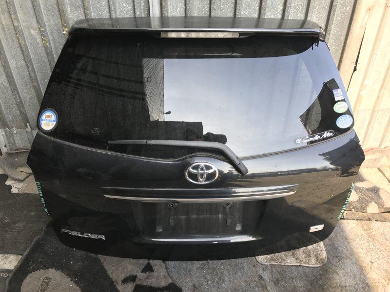 Дверь 5-я Toyota Corolla Fielder NZE141 задняя