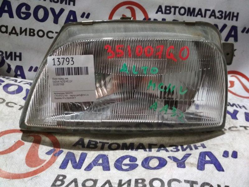 Фара Suzuki Alto HA11S передняя левая 3510070G0