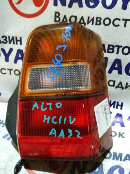 Стоп-сигнал Suzuki Alto HA11S задний правый 35603-70G0