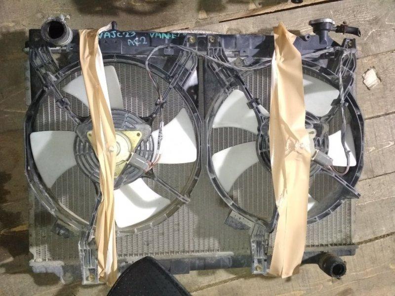 Радиатор основной Nissan Vanette Serena KAJC23 GA16DE A/T