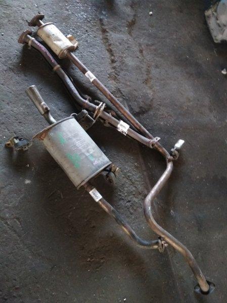 Глушитель Nissan Presea R10