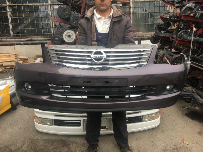 Бампер Nissan Bluebird Sylphy KG11 передний