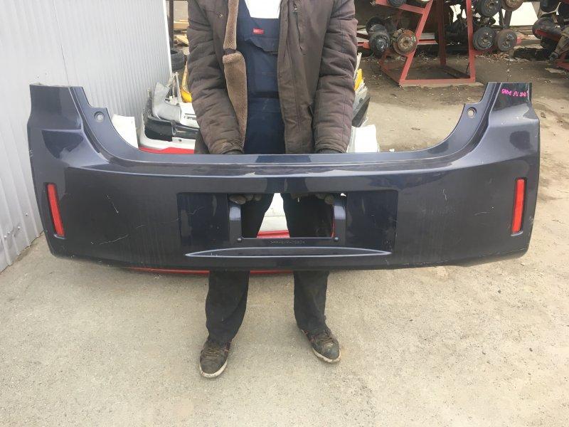 Бампер Toyota Spade NCP141 задний