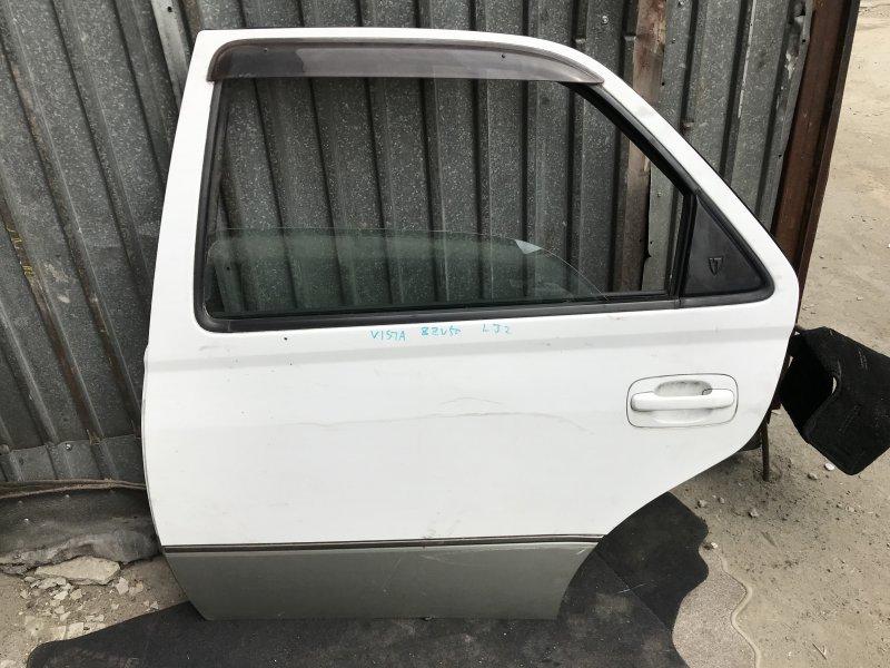 Дверь Toyota Vista ZZV50 задняя левая SEDAN