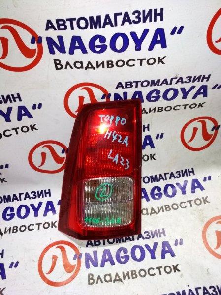 Стоп-сигнал Mitsubishi Toppo Bj H42A задний левый 114-6348
